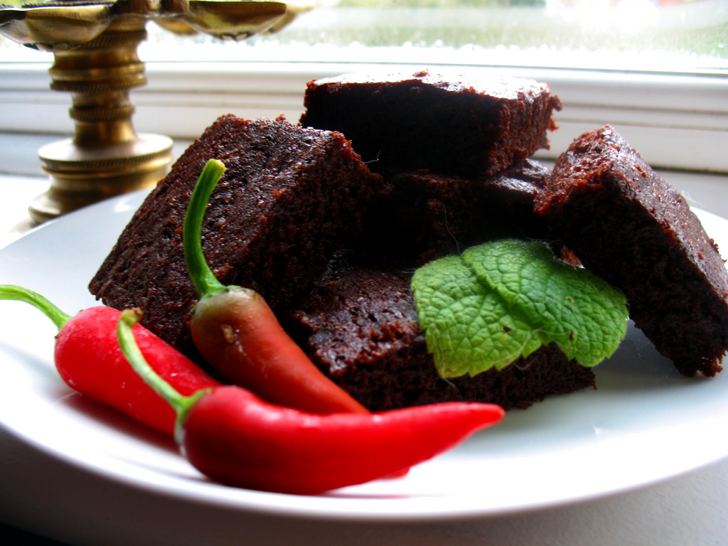 Schoko & Chili Brownies